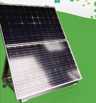 オフグリッド太陽光発電「PVチャージステーション」